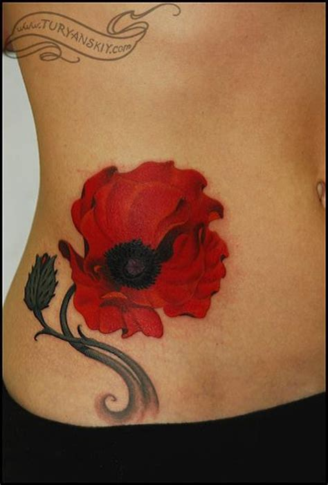 poppy tattoo meaning poppy tattoos