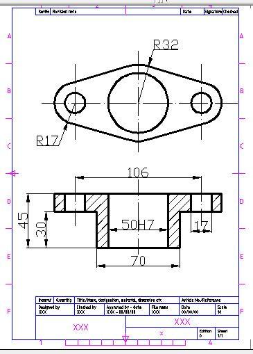 contoh format gambar teknik gambar gambar teknik budidrawing76 laman 4