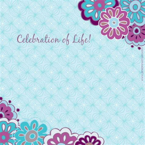 What To Say In A Celebration Of Life Invitation Party Invitations Ideas Celebration Of Invitation Template