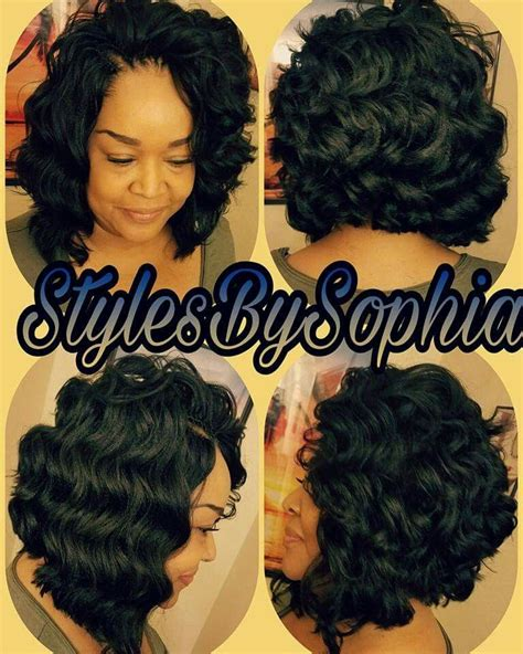 crochet braids hairstyle for dr hair syles pinterest crochet braids bob hair is ocean wave by kima this is so