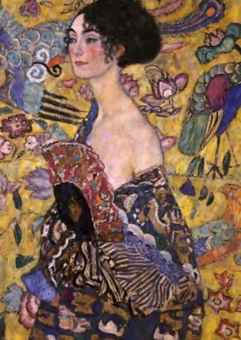 gustav klimt lady with fan error http web server ibm notes exception a view of