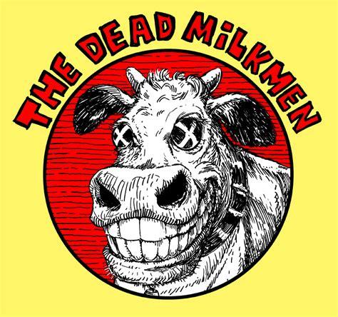 Dead Milkmen Cow Logo dead milkmen t shirt