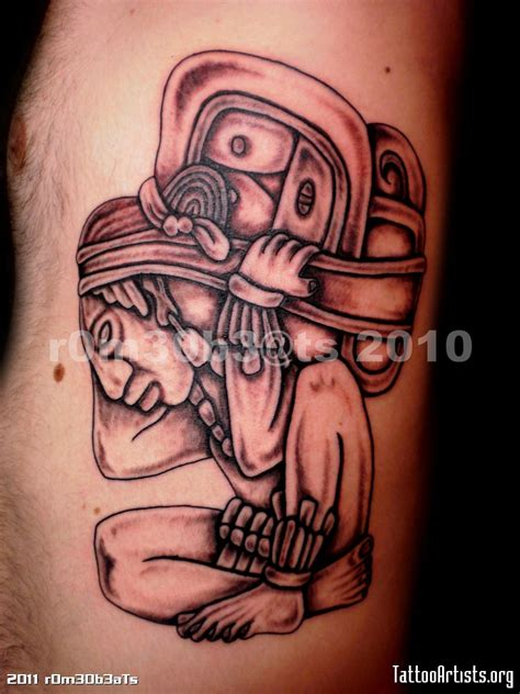 mayan tattoo mayan jaguar god