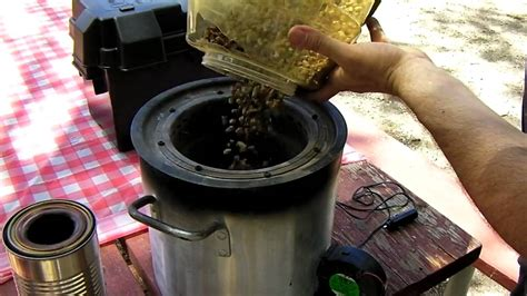 large portable woodgas stove demo youtube