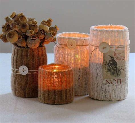 candelabro maizena decorazioni di natale con barattoli di vetro foto 10 40