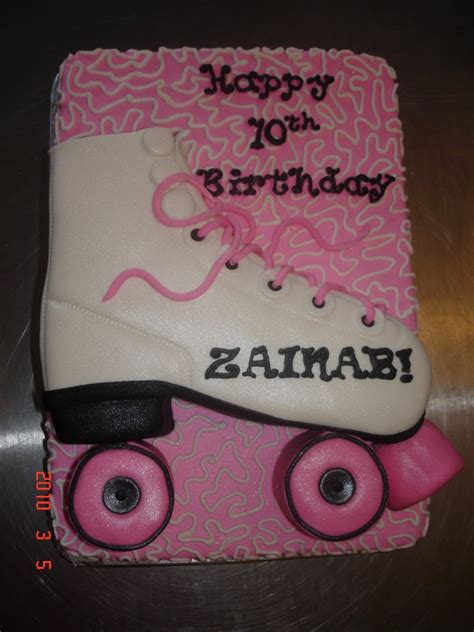 How To Decorate Roller Skates by Roller Skate Cakes Decoration Ideas Birthday Cakes