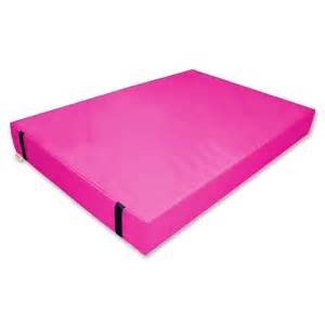 gymnastic landing crash mat pink 20cm implay