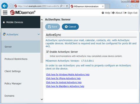 mobile device management server mail server mdaemon messaging server mdaemon remote