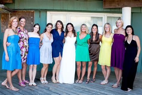 Bridesmaid Dresses Dc Area - nonmatching bridesmaids casual capitol
