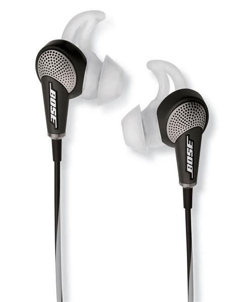 bose quiet comfort 20 new bose quietcomfort 20 noise cancellation earphones