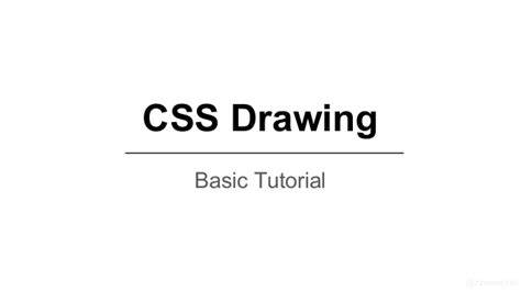 css tutorial powerpoint css drawing basic tutorial 라이언 그리기