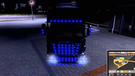 cabina led para uñas ets2 mods lacivert led mod bymetin44 youtube