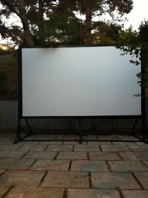 blue is the new neutral outdoor movie night