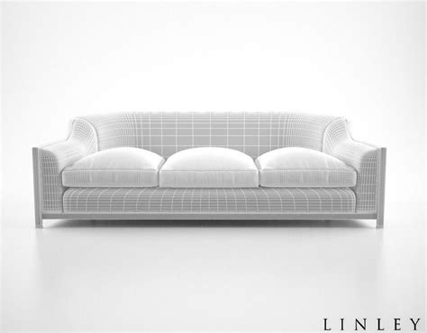 grosvenor sofa linley grosvenor sofa 3d model max cgtrader com