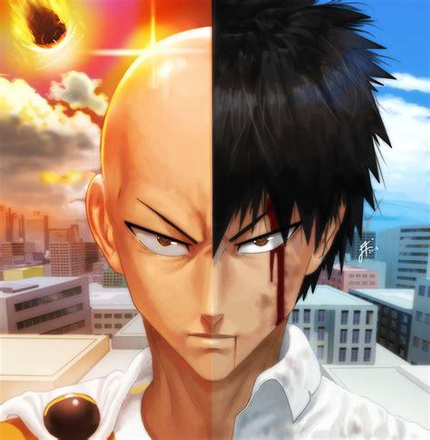 Kaos Anime Saitama saitama dan genos gambaran tsukinopandaaa uzumaki boruto