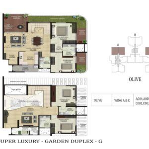 olive garden floor plan shapoorji pallonji parkwest 2 3 bedroom apartments bangalore