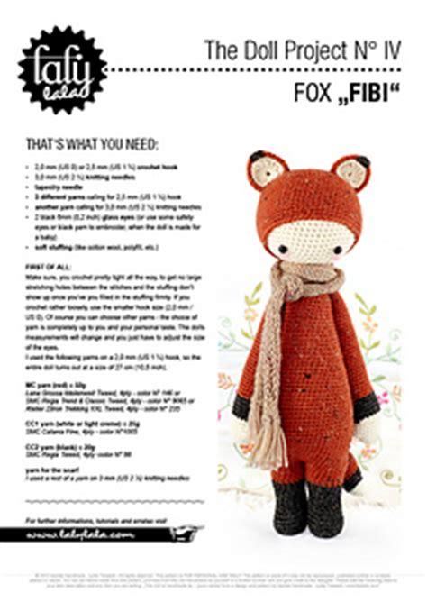free pattern lalylala ravelry lalylala fibi the fox pattern by lydia tresselt