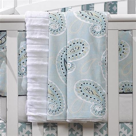 Sale Terbaru Kulot Peru Blue coastal blue peru minky receiving blanket liz and roo