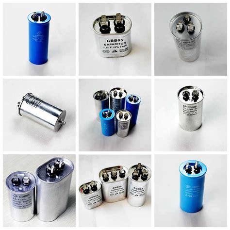 capacitor cbb65 rohs 200vac 500vac polypropylene capacitor air compressor motors capacitor from tongling