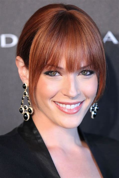 blond hair actor in the mentalist amanda righetti is an american actress and film producer
