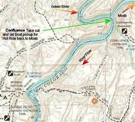 green river colorado map untitled www canoe2001