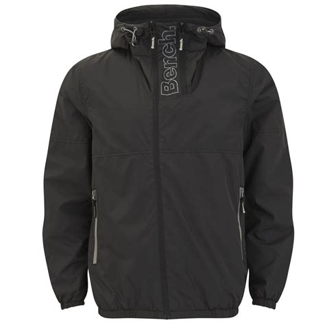 bench coats for men bench men s instill hooded jacket black