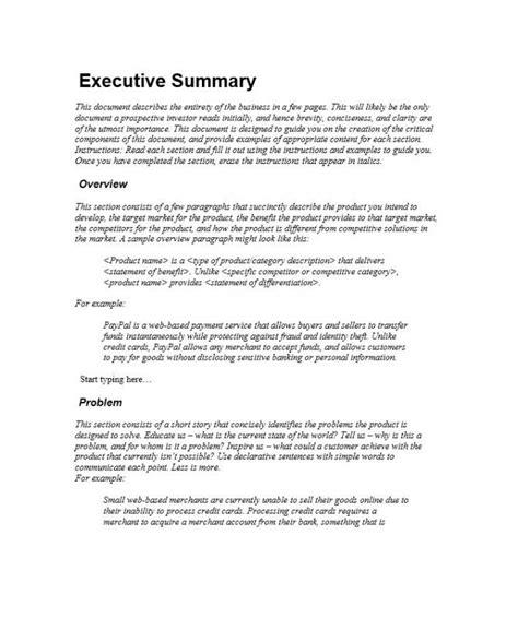 executive summary resume example thisisantler
