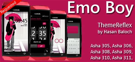 emo themes for nokia asha 210 requested theme themereflex