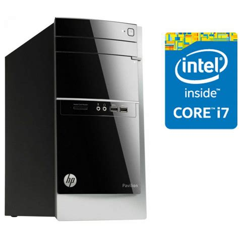 ordinateur de bureau hp intel i7 pc de bureau hp pavilion 500 435nk intel 174 i7 4790s
