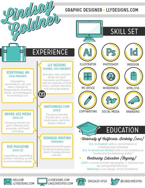 best 25 graphic designer resume ideas on