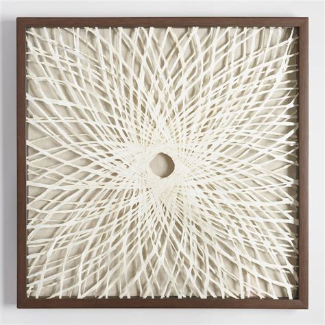 rice paper wall l rice paper spiral shadowbox wall art world market