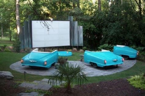 diy backyard movie theater diy backyard theater outdoor furniture design and ideas