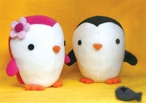 cute penguin stuffed animal pattern pdf