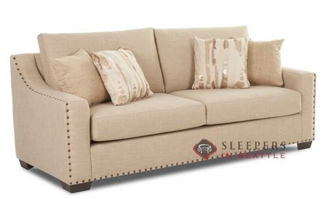 savvy sleeper sofas customize and personalize alexandria queen fabric sofa by