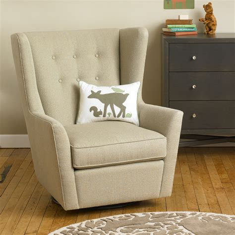 Rocking Recliner Chair For Nursery Upholstered Nursery Gliders And Rockers Thenurseries