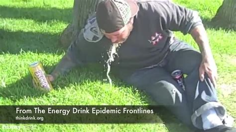 energy drink duckling joose four loko inspired projectile vomit from the