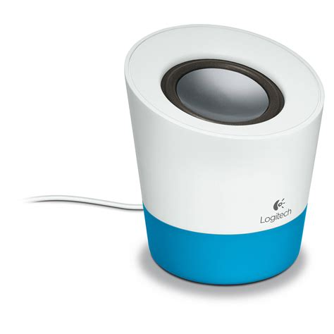 Logitech Z50 Multimedia Speaker Berkualitas logitech z50 multimedia speaker blue 980 000799 b h photo