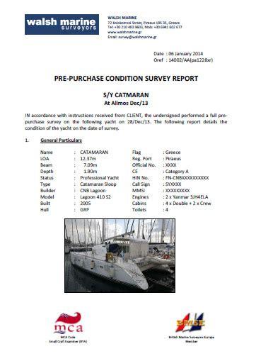 boat insurance survey yacht pre purchase surveys walsh marine