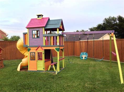 backyard playset ideas best 25 outdoor playset ideas on pinterest