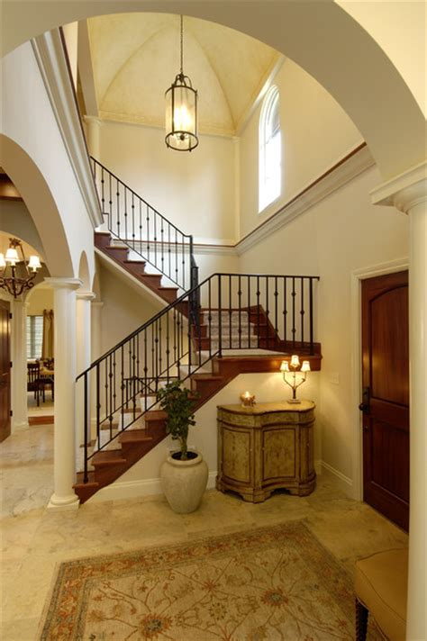 Staircase Ceiling Lighting Lake Country Builders