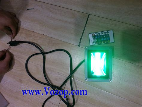 led flood light flashing on and off 10w rgb floodlight with memory function led outdoor flood