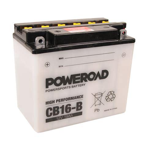 Motorrad Kennzeichenhalter Größe by Poweroad Cb16 B 12v 19a Ve05 703059