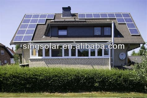 home solar power station grid 1kw solar power plant for solar home system