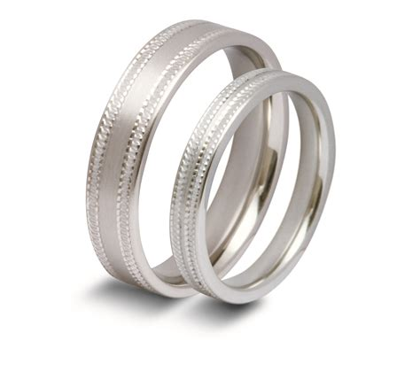 palladium wedding rings bliss rings wedding bands in