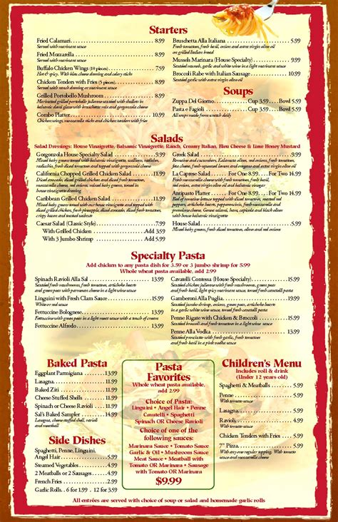 26 images of family restaurant menu design template canbum net