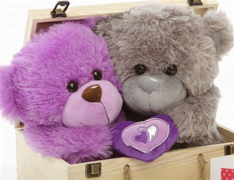 wallpaper of couple teddy bear purple and gray teddy bear couples wallpaper 19231