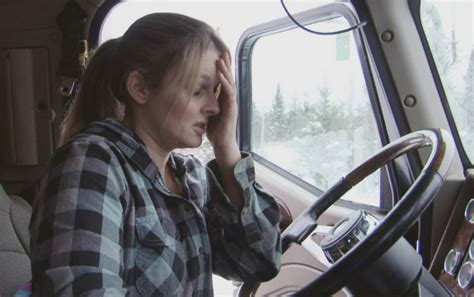 Mild Winter 2017 by Lisa Kelly Gets Stranded On Ice Road Truckers Tonight