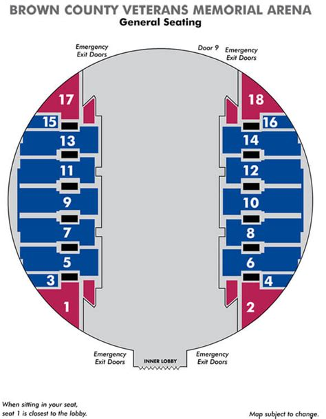 bca floor plan seating maps ticketstar