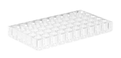 Vial Rack by Vial Rack Acrylic 173 X 95 X 20mm 50 Cavities With A