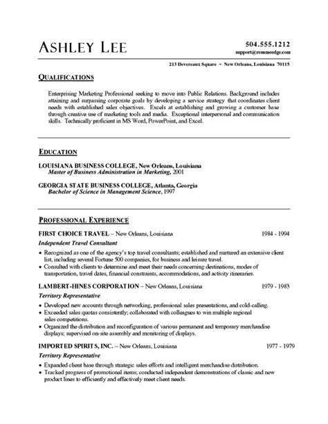 Resume Templates In Word Format Sle Resume Word Best Resume Exle